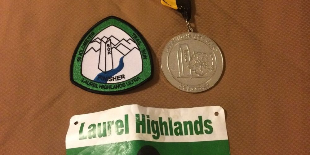 Laurel Highlands 50k, 2017