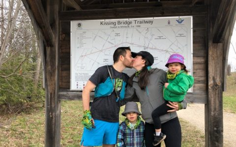 RACE REPORT: Kissing Bridge Trailway FKT